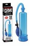 Pipedream, Pompka Blue Worx + pierścień
