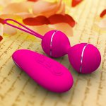 Silicone Wireless Remote Vibrating Egg Rechargeable Smart Love Ben Wa Ball Kegel Vaginal Trainer Sex Product Sex Toys For Women