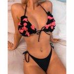 New Sexy Off Shoulder Bikini Swimwear Women Swimsuit Push Up Bikini Set Brazilian Bathing Suit Beachwear Swimming Suit For Women