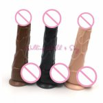 3 Color S/M/L Size Waterproof Realistic Dildos Strong Suction Cup Flexible Penis For Women Erotic Sex Toys Adult Sex Products
