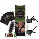 Kamasutra, Zestaw akcesoriów erotycznych z kajdankami - Kama Sutra Playset Trust Me