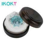 Ikoky, IKOKY Penis Trainer Male Masturbator Portable Penis Delay Massager Vagina Real Pussy Sex Toys for Men