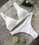 2017 Sexy Female Beachwear New Design Hot Sale Women Push-up Padded Bra Bandage Bikini Set Swimsuit Triangle Swimwear Bathing