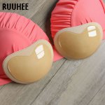 RUUHEE Sexy Bikini Push Up Padded Swimsuit Bikini Small Bust Thick Breathable Sponge Bra Pad Breathable Invisible Paste Padding