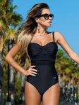 Sexy Women Strap One-Piece Bandage Fish Net Thong Bikini Push Up Monokini Swimsuit Bather Suit Swimwear Swimming Suit