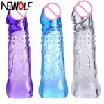 Reusable Sex Products Penis Sleeve Dragon Cock Ring Penis Pump Extender Condoms Sex Toys for Man Penis Ring PY146