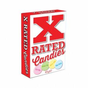 Cukierki z niegrzecznymi napisami - X-Rated Candies