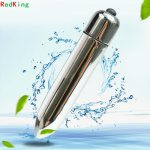 Redking 10 Speed Mini Bullet Vibrator for Women Waterproof Clitoris Stimulator Dildo Vibrator Sex Toys for Woman Sex Products