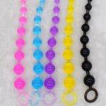 Anal Stimulator Ball Beads Butt Plug & Mini Bullet Vibrator Masturbation Adult Sex Toys Products for Women Men Gay Couple