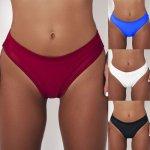 2019 Hot Women Brazilian Sexy Swimwear Women Bikini High Waist Short Tankini Bottoms thong Swimsuit Swim Briefs Pants Bathing