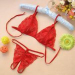 Women Sexy Bikini Set Mujer Swimming Suit For Women Swimwear Solid Free size Lace 4 Color Set Maillot De Bain#10
