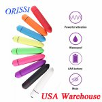 Orissi, ORISSI Mini Bullet Vibrator 10 Speed Waterproof Dildo Vibrator Sex Toys for Women Powerful Vibrating Egg Clitoris Stimulator