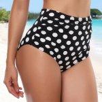 Sexy Women plus size Bikini Bottoms Swimming Shorts Tankinis Sporty Panty High Waist Swimwear Bathing Suit Beach Swim Briefs