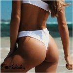 Sexy Women Bikini Bottoms Swimming G-String Briefs Panty Bikini Thong Swimsuit Brazilian Thong Maillot De Bain Femme