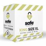 Safe, Prezerwatywy XL - Safe King Size XL Condoms 5 szt