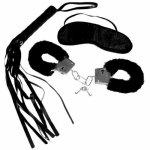 Zestaw startowy do BDSM S&M Intro to S&M Kit Black