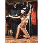 Baci Lingerie, Erotyczny kostium ślubne Baci White Wedding Love Slave One Size