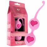 Feelztoys, Silikonowe kulki gejszy Feelz Toys Desi Love Balls - Różowy