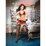 Baci Lingerie, Erotyczny kostium pielęgniarki Baci Peek-A-Boo Nurse Set S/M