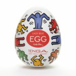 Tenga, Japoński masturbator - Tenga Keith Haring Egg Dance 1szt