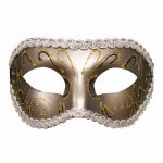 Sex And Mischief, Maska w stylu karnawałowym S&M Grey Masquerade Mask