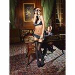 Baci Lingerie, Erotyczny kostium sekretarcka Baci Sexy Secretary Set S/M