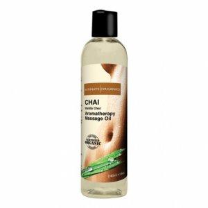 Herbaciany olejek do masażu - Intimate Organics Chai Massage Oil 240 ml