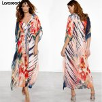 Beach Dress Kaftan Pareo Sarongs Sexy Cover-Up Chiffon Bikini Swimwear Tunic Swimsuit Bathing Suit Cover Ups Robe De Plage#Z024