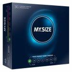 Dopasowane prezerwatywy - My Size Natural Latex Condom 47mm 36szt