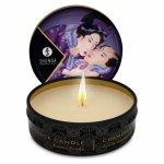 Shunga, Świeca do masażu - Shunga Massage Candle Exotic Fruits 30 ml Owoce Egzotyczne