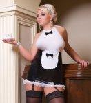 Andalea, Kostium pokojówki S/3035 Luxe Waitress Andalea WYSYŁKA 24H
