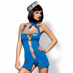 Przebranie stewardessy Obsessive Air Hostess Costume L/XL