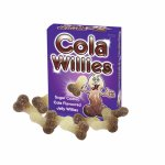 Cukierki żelowe peniski - Jelly Willies  Cola
