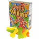 Spencer And Fleetwood, Cukierki żelowe peniski - Jelly Willies  Owocowe