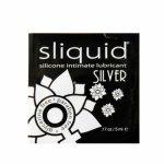 Sliquid, Silikonowy środek nawilżający - Sliquid Naturals Silver Lubricant 5 ml SASZETKA