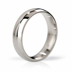 Stalowy pierścień na penisa - Mystim His Ringness Earl Polished 48mm