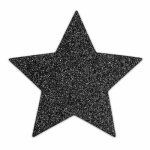 Bijoux Indiscrets, Naklejki na sutki - Bijoux Indiscrets Flash  - czarna gwiazda