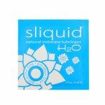 Sliquid, Wodny środek nawilżający - Sliquid Naturals H2O Lubricant 5 ml SASZETKA