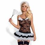 Przebranie pokojówki Obsessive Housemaid Costume S/M