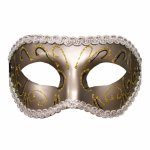 S And M, Maska karnawałowa - S&M Grey Masquerade Mask