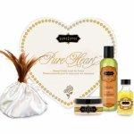 Kamasutra, Zestaw olejków w sercu dla ukochanej / walentynki - Kama Sutra Pure Heart  Białe