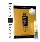 Perfumy kobiece z feromonami zapachowymi - LOVELY LOVERS BeMINE parfum WOMAN 2ml