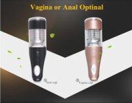 2015 male hands free Piston Rotation Vibrating masturbator sex toys, Man Automatic Masturbator Sex Machine, Erotico Adult Dolls