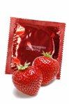 Amor, Prezerwatywy truskawkowe - 50 szt.