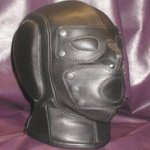 BDSM Soft PVC Leather Hood Mask Headgear In Adult Games For Women And Men , Fetish Erotic Porno Sex Products Toys For Couples