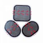 Eco-friendly  Reusable ABS Belt Gel Pad Unisex Waist Replace Pads Massage belt Self Adhesive Electrodes pads