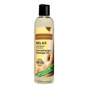 Olejek do masażu organiczny - Intimate Organics Relax Massage Oil 120 ml