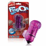 Wibrator na palec - The Screaming O The FingO Nubby  fioletowy