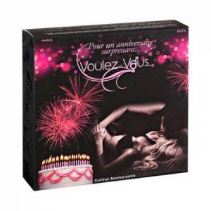 Smakowity zestaw olejków i pyłków do ciała Voulez-Vous... - Gift Box Birthday