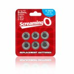 Screaming O, Baterie AG-13 - The Screaming O Size AG-13 Batteries x6 do sex zabawek